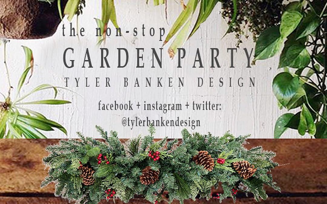 Holiday Evergreen Centerpiece